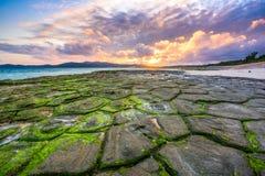 Okinawa Beach imagens de stock