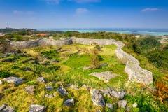Okinawa Castle Ruins imagem de stock royalty free