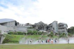 Okinawa Churaumi Aquarium, Okinawa, Japan royalty-vrije stock afbeelding