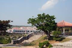 Okinawa-Friedenserinnerungspark lizenzfreie stockfotos