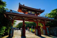 Okinawa, Japón en el castillo de Shuri imagen de archivo