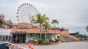 OKINAWA, JAPAN - April 21 , 2017: American Village is an entertainment and shopping complex with an American theme. royalty free stock image
