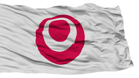 Okinawa Japan Prefecture Flag aislado Imagen de archivo