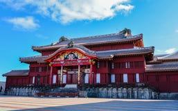 Okinawa, Japan an Shuri-Schloss Stockbilder