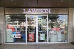 OKINAWA - 8 OCT: Lawson in Okinawa, Japan on 8 October 2016. Lawson store in Okinawa, Japan Stock Photo