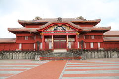 OKINAWA - 8 OCT: Shuri Castle in Okinawa, Japan on 8 October 2016 royalty free stock photography