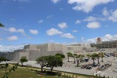 Okinawa Prefectural Museum & Art Museum, Reis in Okinawa, Japan Royalty-vrije Stock Foto's