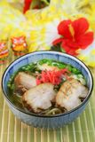 Okinawa Soba Fotografia Stock Libera da Diritti