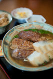Okinawa soba Royalty Free Stock Image