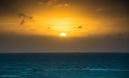 Okinawa Sunset Royalty Free Stock Photos