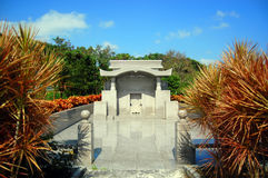 Okinawa Tomb. Okinawan traditional tomb in southern Japan Royalty Free Stock Photos