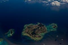 Okinawa, widok z lotu ptaka Zdjęcia Royalty Free