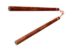 okinawan παραδοσιακό όπλο nunchaku Στοκ εικόνες με δικαίωμα ελεύθερης χρήσης