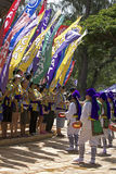 Okinawan знамена Стоковая Фотография RF