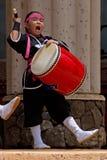 Okinawan drummer Royalty Free Stock Photos