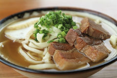Okinawan noodles Stock Images