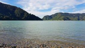 Okiwibaai in Nieuw Zeeland royalty-vrije stock afbeelding