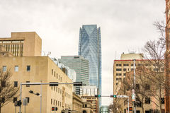 Okla oklahoma city skyline Stock Photography