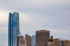 Okla oklahoma city skyline Royalty Free Stock Photos