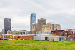 Okla oklahoma city skyline Royalty Free Stock Photo