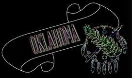 Oklahoma ślimacznica ilustracji