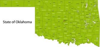 Oklahoma stock de ilustración