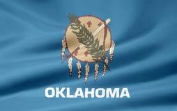 Oklahoma bandery Obrazy Stock