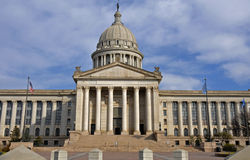 Oklahoma capital Stock Photo