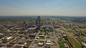 Oklahoma City aéreo de Oklahoma metrajes