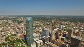 Oklahoma City aereo di Oklahoma stock footage