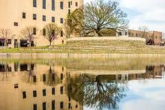 Oklahoma city bombing memorial Royalty Free Stock Image