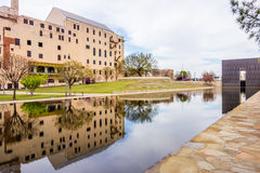 Oklahoma city bombing memorial Stock Photo