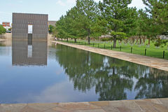 Oklahoma City Bombing Memorial Park Royalty Free Stock Image