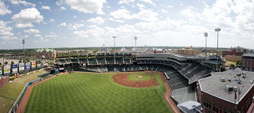 Oklahoma City Bricktown Ballpark Stock Images