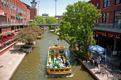 Oklahoma City Bricktown cruises Stock Photos