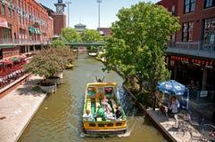 Oklahoma City Bricktown cruises stock photos