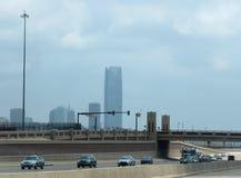 Oklahoma City Devon Building d'inclusione del centro Fotografia Stock Libera da Diritti