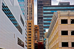 Oklahoma City im Stadtzentrum gelegen Lizenzfreie Stockfotografie