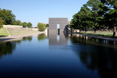 Oklahoma City Memorial. Oklahoma City, Oklahoma Stock Photography
