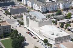 Oklahoma City Museum of Art. This is a arial picture of the Oklahoma City Museum of Art in Oklahoma City Stock Photo