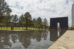 Oklahoma City National Memorial Royalty Free Stock Photos