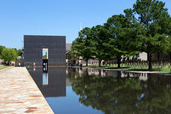 Oklahoma City National Memorial Bombing Royalty Free Stock Photo