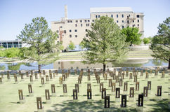 Oklahoma city national memorial and museum Stock Images