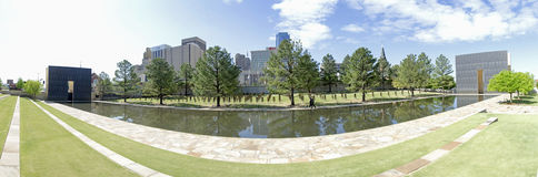 Oklahoma city National Memorial & Museum Royalty Free Stock Photos