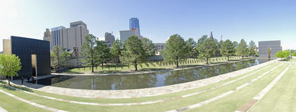 Oklahoma city National Memorial & Museum Stock Photo