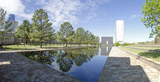 Oklahoma city National Memorial & Museum Royalty Free Stock Image