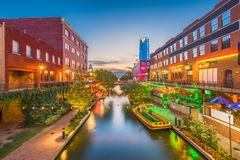 Oklahoma City, Oklahoma, USA Royalty Free Stock Image