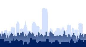 Oklahoma City Skyline -Vector Royalty Free Stock Image