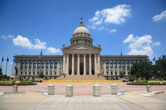 Oklahoma City State Capitol Building Royalty Free Stock Photography