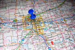 Oklahoma City, Oklahoma fotografía de archivo libre de regalías